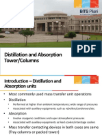 Distillation and Absorption Towers