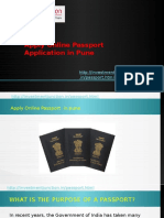 Apply Online Passport Application in Pune