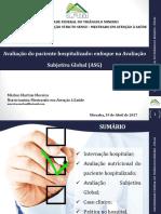 Avaliaçao Subjetiva Global e Do Hospitalizado