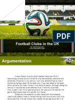 Soccer Ball on Green Grass PowerPoint Templates Standard