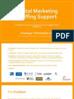 Digital Marketing Staffing Support