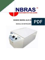 Albras - Banho Maria - ALB250C_User Manual