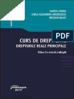Curs de Dr Civil - Dr Reale Principale Boroi Anghelescu Nazar