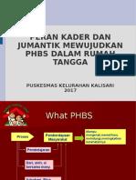 PHBS Untuk Kader Dan Jumantik