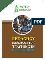 Pedagogy Book 1
