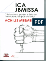 Achille Mbembe - África Insubmissa