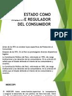El Estado Como Agente Regulador Del Consumidor