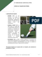 8 El Talento en Futbol