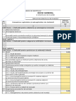 Deviz General Model Excel Conform HG 907