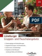 Lüneburger Gruppen- und Pauschalangebote 2010