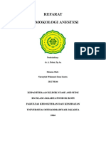 Cover Refarat Farmakologi Anestesi