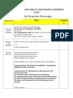 Teks Pengacara Majlis Kejohanan Sukaneka 2016