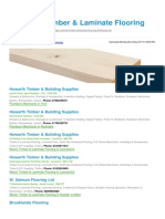Wood Timber Laminate Flooring BizHouse.uk