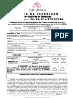 18º e.d. - Ficha Inscrição Interior
