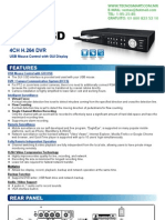 DVR 4 CANALES CPCAM CPD542D(AVC793ZD)