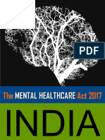 The Mental Health Care Act 2017 INDIA Gazette_175248