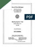 Flint City Council Meeting May 8, 2017