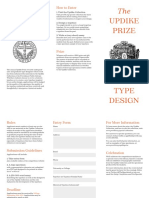 Updike Prize Form
