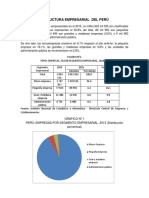 Estructura Empresarial Del Perú