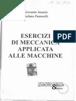 Jacazio-Pastorelli, Esercizi Svolti Meccanica Applicata Alle Macchine, Levrotto&Bella