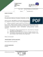 Format Surat Pelantikan Pegawai Penerima