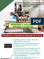 ASESORÍA MONITOREO Y EVALUACIÓN