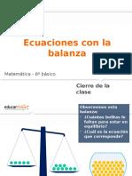 ecuacionesconbalanaza_6basico2_cierre.pptx