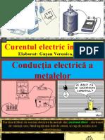 Curentul electric în metale