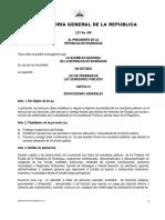 3- Ley No 438 Ley de Probidad de Los Servidores Publicos
