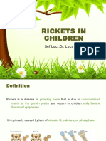 Rickets in Children