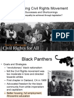 widening civil rights movement