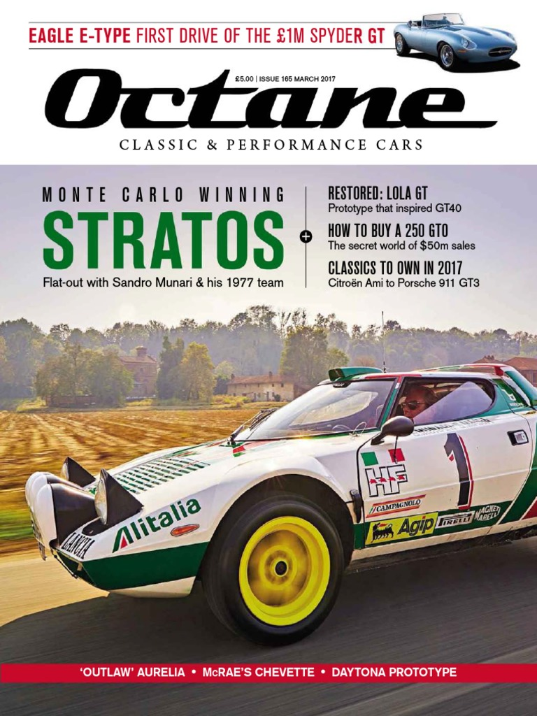 Octane UK Issue 165 March 2017.pdf | Auto Racing | Formula One