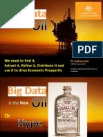 Austrade Presentation - Data the New Oil (BDaaS)