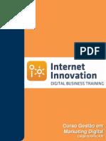 Curso de Gestão em Marketing Digital