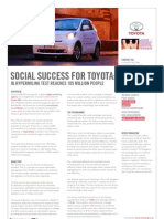 Toyota  y los Social Media