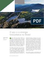 434 o Aco e a Energia Fotovoltaica No Brasil
