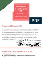 2016 - 2017 housing cip showcase