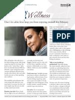 Vitality Wellness Newsletter 2017 02 (February)