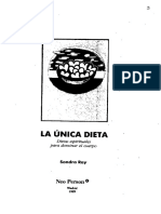Documentos Libros-Ray Sondra-la Unica Dieta