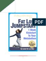 1 Week Fat Loss Jumpstart
