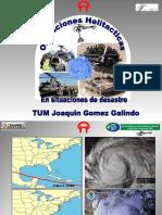Operaciones Helitacticas en Caso de Desastres