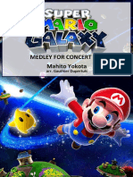 UPDATED Super Mario Galaxy Medley for Concert Band