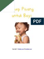 Resep Pisang Untuk Bayi