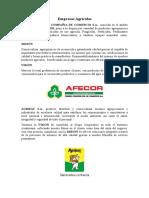 Contabilidad Agricola - Empresas Agricolas