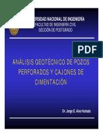 4. Análisis geotécnico de Pozos Perforados y Cajones de Cimentación.pdf