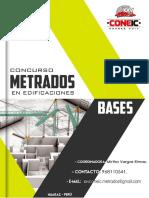 Bases Del Concurso de Metrado de Cimentaciones en Edificaciones