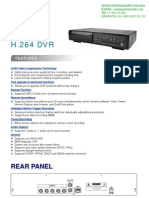 DVR 4 CANALES CPCAM DR041