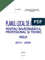 PLAI Vaslui - 2013-2020