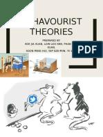 Behavourist Theory