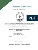 Comparacion Del Comportamiento Estructural de Los Pavimentos Flexibles de Las Avenidas Jose Gabriel Condorcanqui y Miraflores